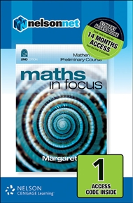 Maths in Focus: Mathematics Preliminary Course (1 Access Code Card) - 9780170226448
