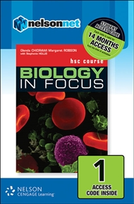 Biology in Focus HSC Course (1 Access Code Card) - 9780170226714