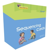 PM Oral Literacy Sequencing Cards Emergent Box Set + IWB CD - 9780170228459