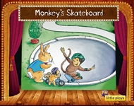 Little Plays: Monkey's Skateboard - 9780170228695