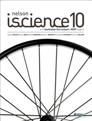 Nelson iScience 10 for the Australian Curriculum NSW Stage 5 (Student Book with 4 Access Codes) - 9780170231510