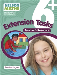 Nelson Maths Australian Curriculum 6+ Extension Task Resource Book - 9780170233798