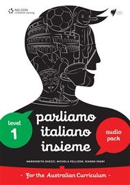 Parliamo Italiano Insieme 1 Audio and Video Pack - 9780170238731