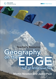 Geography on the Edge: NCEA Level 2 Teacher Resource CD - 9780170241922
