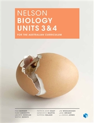 Nelson Biology Units 3 & 4 for the Australian Curriculum (Student Book with 4 Access Codes) - 9780170243254