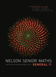 Nelson Senior Maths General 11 for the Australian Curriculum - 9780170250252