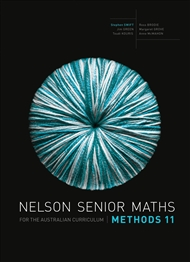 Nelson Senior Maths Methods 11 for the Australian Curriculum - 9780170250269