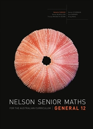Nelson Senior Maths General 12 for the Australian Curriculum - 9780170250283