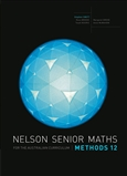 Nelson Senior Maths Methods 12 for the Australian Curriculum