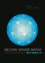 Nelson Senior Maths Methods 12 for the Australian Curriculum - 9780170250290