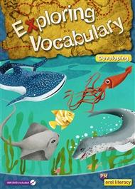 PM Oral Literacy Exploring Vocabulary Developing Big Book + IWB DVD - 9780170251693