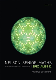 Nelson Senior Maths Specialist 12 Solutions DVD - 9780170254670