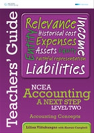 NCEA Accounting A Next Step Level Two: Accounting Concepts Teacher's Guide - 9780170257435