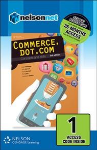 Commerce.dot.com Concepts and Skills 1 Access Code - 9780170257800