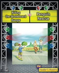 Reader's Theatre: Riding the Skateboard Ramps and Penguin Rescue - 9780170258128