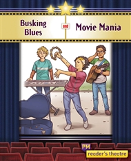 Reader's Theatre: Busking Blues and Movie Mania - 9780170258227