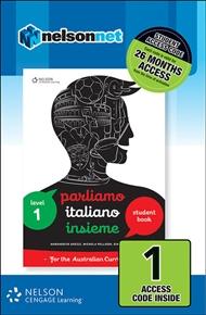 Parliamo Italiano Insieme 1 (1 Access Code Card) - 9780170258999