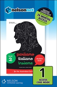 Parliamo Italiano Insieme 2 (1 Access Code Card) - 9780170259002