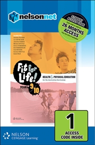 Nelson Fit for Life! Student Book Years 9 & 10 (1 Access Code Card) - 9780170261531