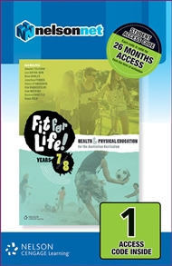Nelson Fit for Life! Years 7 & 8 (1 Access Code Card) - 9780170261579