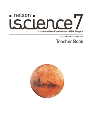 Nelson iScience 7 for the Australian Curriculum NSW Stage 4 Teacher Book - 9780170262033