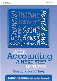 NCEA Accounting A Next Step Level Two: Financial Reporting - 9780170262422