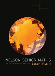 Nelson Senior Maths Essentials 11 for the Australian Curriculum - 9780170264013