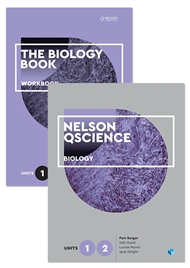 Nelson QScience Biology Student Pack Units 1 & 2 - 9780170288668