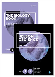 Nelson QScience Biology Student Pack Units 3 & 4 - 9780170288675