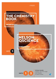 Nelson QScience Chemistry Student Pack Units 1 & 2 - 9780170288682