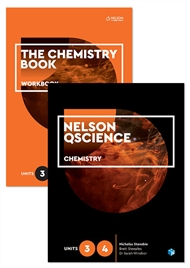 Nelson QScience Chemistry Student Pack Units 3 & 4 - 9780170288699