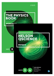 Nelson QScience Physics Student Pack Units 3 & 4 - 9780170288712