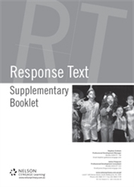 Supplementary Booklet Writing: Response Text - 9780170326902