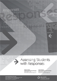 Assessing Students with Responses - 9780170327046
