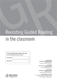 Revisiting Guided Reading in the Classroom - 9780170327336