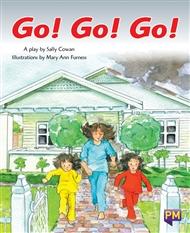 Go! Go! Go! - 9780170349819