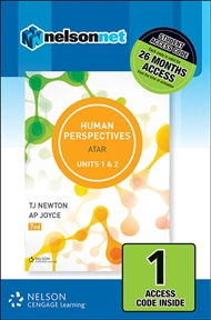 Human Perspectives Units 1 & 2 1 Access Code - 9780170351140
