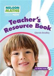 Nelson Maths AC NSW Teacher Resource Book Kindergarten - 9780170352949