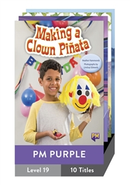 PM Purple Guided Readers Level 19 Pack x 10 - 9780170353168