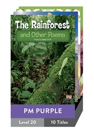 PM Purple Guided Readers Level 20 Pack x 10 - 9780170353175