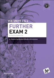 A+ Further Mathematics Exam 2 VCE Units 3 & 4 - 9780170354110