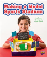Making a Model Sports Stadium - 9780170354318