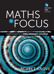 Maths in Focus: Mathematics Preliminary Course Revised (Student Book with 4 Access Codes) - 9780170354462