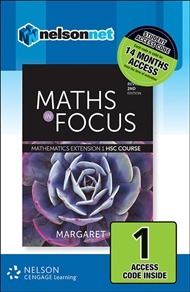Maths in Focus: Mathematics Extension 1 HSC Course Revised (1 Access Code Card) - 9780170354646