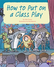 How to Put on a Class Play - 9780170358675
