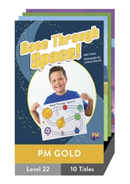PM Gold Guided Readers Level 22 Pack x 10 - 9780170358958