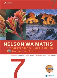 Nelson WA Maths for the Australian Curriculum 7 Revised Edition (Student Book & 4 Access Codes) - 9780170361910
