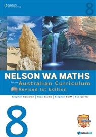 Nelson WA Maths for the Australian Curriculum 8 Revised Edition (Student Book & 4 Access Codes) - 9780170361927