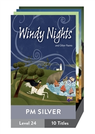 PM Silver Guided Readers Level 24 Pack x 10 - 9780170363525