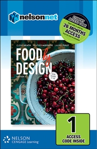 Food By Design (1 Access Code Card) - 9780170363549